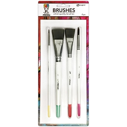 Ranger - Dina Wakley Media Brushes (2 pcs)