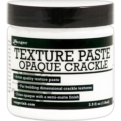 Ranger - 3.9 oz jar Opaque Crackle Texture Paste