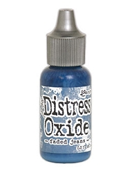 Ranger - Tim Holtz Distress Oxide Ink Refill - Faded Jeans (0.5 fl.oz.)
