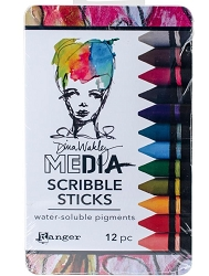 Ranger - Dina Wakley Media Scribble Sticks (Set #2)