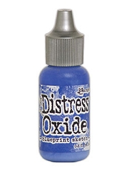 Ranger - Tim Holtz Distress Oxide Ink Refill - Blueprint Sketch (0.5 fl.oz.)