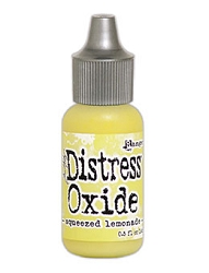 Ranger - Tim Holtz Distress Oxide Ink Refill - Squeezed Lemonade (0.5 fl.oz.)