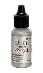 Ranger - Tim Holtz Alcohol Ink - Alloy Sterling