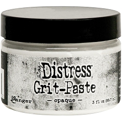 Ranger - Tim Holtz Distress Grit Paste White Opaque (3oz jar)