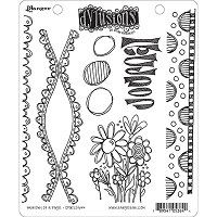 Dylusions - Cling Rubber Stamps - Anatomy of a Page