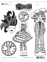 Dylusions - Cling Rubber Stamps - Passage of Time