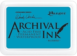 Ranger - Wendy Vecchi  Archival Ink Pad - Bluebird