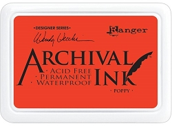 Ranger - Wendy Vecchi  Archival Ink Pad - Poppy