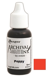 Ranger - Wendy Vecchi  Archival Ink Refill - Poppy