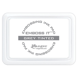 Ranger - Emboss it Embossing Ink Pad - Grey Tinted