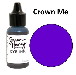 Ranger - Simon Hurley Dye Ink Refill - Crown Me