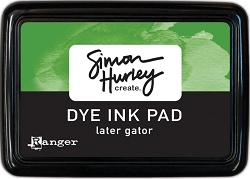 Ranger - Simon Hurley Dye Ink Pad - Later Gator
