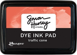 Ranger - Simon Hurley Dye Ink Pad - Traffic Cone
