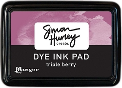 Ranger - Simon Hurley Dye Ink Pad - Triple Berry