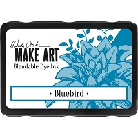 Ranger - Wendy Vecchi Make Art Blendable Dye Ink Pad - Bluebird