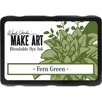 Ranger - Wendy Vecchi Make Art Blendable Dye Ink Pad - Fern Green