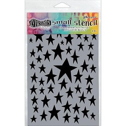 Ranger - Dyan Reaveley's Dylusions Stencil - Star Struck (Small 5