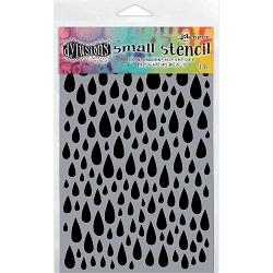 Ranger - Dyan Reaveley's Dylusions Stencil - Teardrops (Small 5