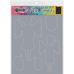 Ranger - Dyan Reaveley's Dylusions Stencil - Maureen (Large 9