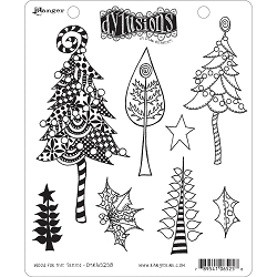 Dylusions - Cling Rubber Stamps - Wood For The Trees