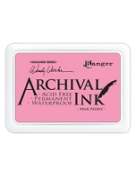 Ranger Archival Ink Pad - Pink Peony by Wendy Vecchi
