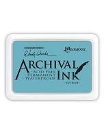 Ranger Archival Ink Pad - Sky Blue by Wendy Vecchi