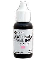 Ranger Archival Ink Refill - Pink Peony by Wendy Vecchi