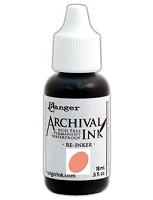 Ranger Archival Ink Refill - Tea Rose by Wendy Vecchi