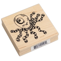Ranger - Dylusions Wood Mounted Stamp by Dyan Reaveley - Octopus