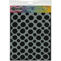 Ranger - Dyan Reaveley's Dylusions Stencil - Circles Large (9