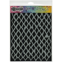 Ranger - Dyan Reaveley's Dylusions Stencil - Diamonds Large (9