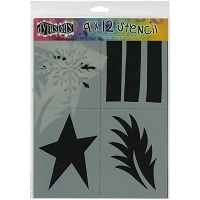Ranger - Dyan Reaveley's Dylusions Stencil - Shapes Large (9