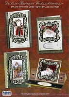 Reddy Creative Cards - 3D Card Kit - Old Time Santas