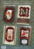 Reddy Creative Cards - 3D Card Kit - Florals, Robin, Bells