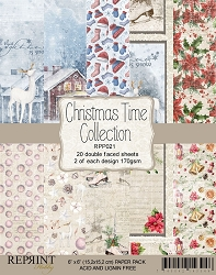 Reprint - Christmas Time 6x6 Paper Pad