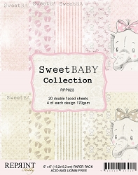 Reprint - Sweet Baby Girl 6x6 Paper Pad