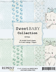 Reprint - Sweet Baby Boy 6x6 Paper Pad