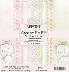 Reprint - Sweet Baby Girl 12x12 collection kit
