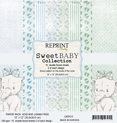 Reprint - Sweet Baby Boy 12x12 collection kit