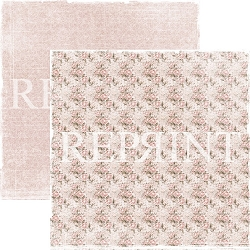 Reprint - I Do Pink Roses 12x12 cardstock