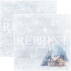 Reprint - Christmas Time Coming Home 12x12 cardstock