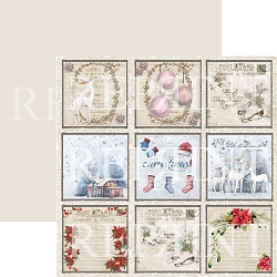Reprint - Christmas Time Tags 1 12x12 cardstock