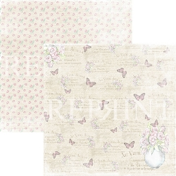 Reprint - Swedish Fika Butterflies 12x12 cardstock