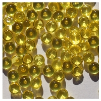 The Robin's Nest - Mini Dew Drops (4mm) - Neon Yellow