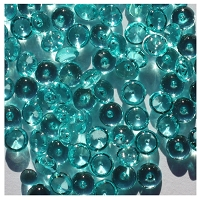 The Robin's Nest - Mini Dew Drops (4mm) - Teal Green