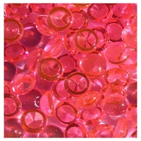 The Robin's Nest - Regular Dew Drops (6mm) - 1 oz Cube Box - Hot Pink