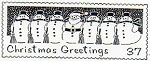 Rubber Stamp Avenue-Cling Rubber Stamp-Snowmen Post