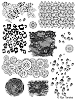 Unmounted Rubber Stamp Sheets