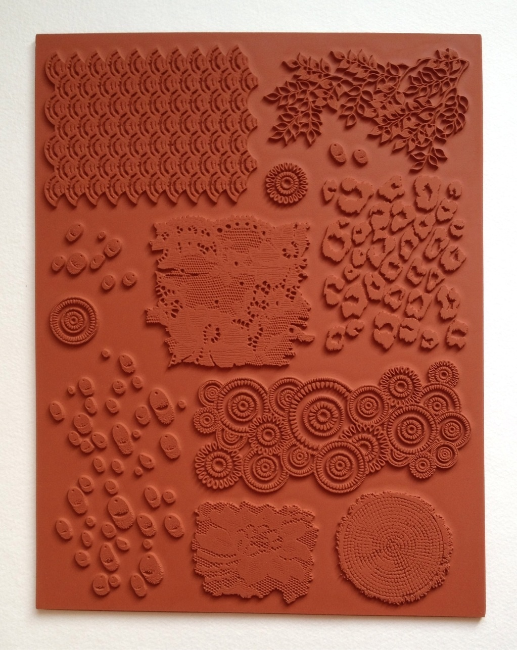 Designs By Ryn Unmounted Rubber Stamp Sheet Textures