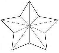 Savvy Stamps - Die - Large 3D Star